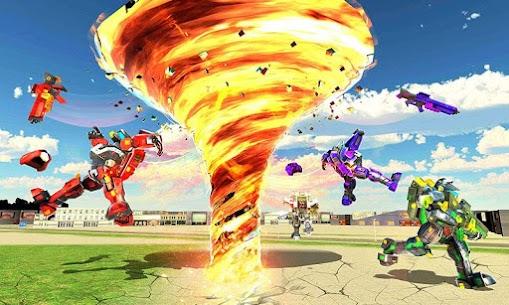 Tornado Robot games-Hurricane Robot Transform Wars 3