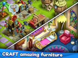Farm Craft: Township & farming game