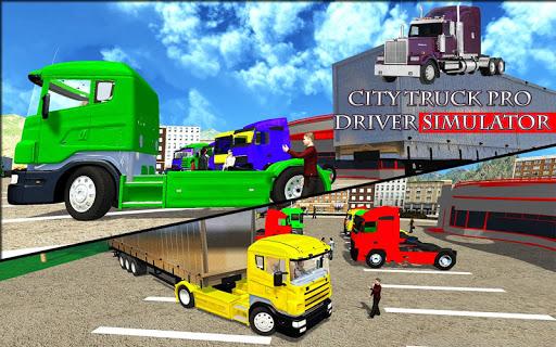 City Truck Pro Drive Simulator screenshots 4