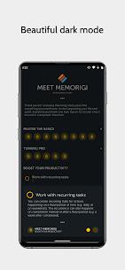 Memorigi MOD APK: To-Do List, Tasks, Calendar (PREMIUM) Download 7