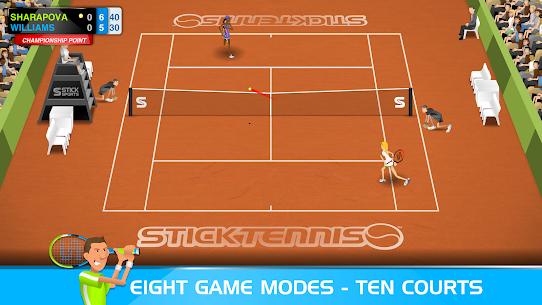 Stick Tennis MOD APK 2.9.3 (Unlocked Rackets) 3