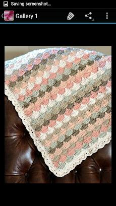 かぎ針編みの毛布のおすすめ画像2