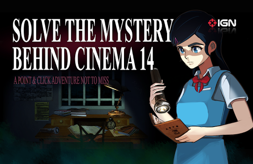 Cinema 14: Thrilling Mystery Escape android2mod screenshots 2