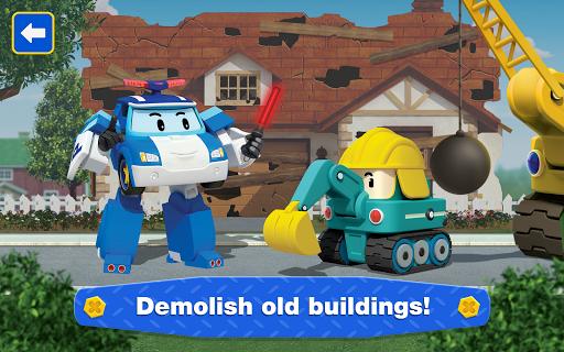 Robocar Poli: Builder! Games for Boys and Girls!  screenshots 19