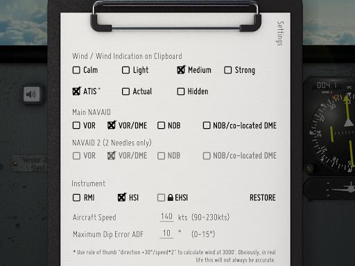 VOR Tracker - IFR Trainer Navigation Simulator Pro  screenshots 10