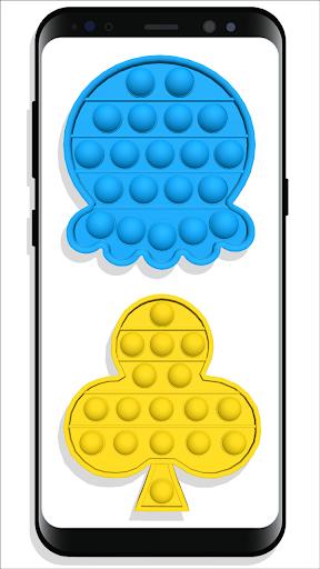 pop it Fidget Cubes - calming sounds making toys screenshots 4