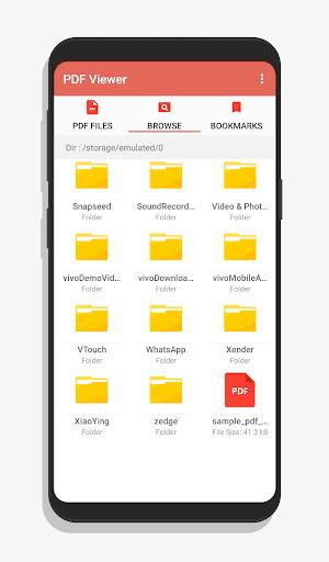 pdf viewer - pdf reader screenshot 3