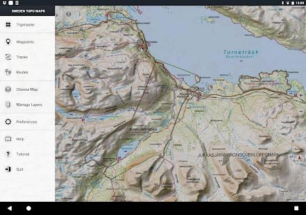 Sweden Topo Maps