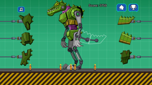 Robot Crocodile Toy Robot War  screenshots 5