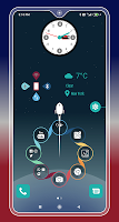 Compact Hitech Launcher - sci-fi, win style Themes