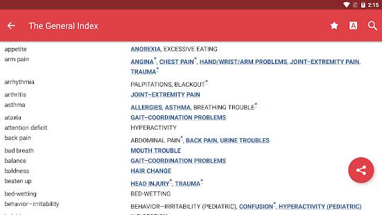 Common Symptom Guide