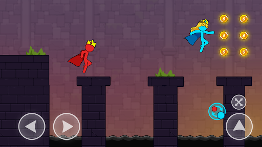 Red And Blue Stickman android2mod screenshots 1