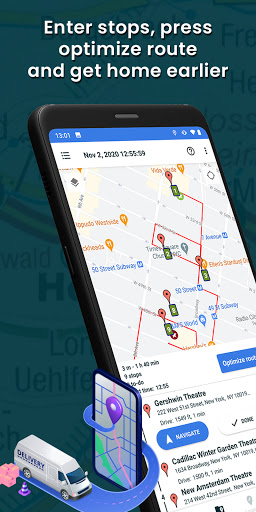 Multi Stop Route Planner Screenshots 1