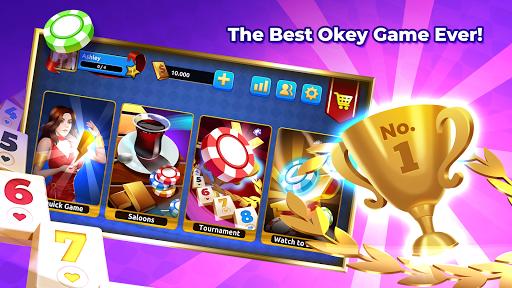 Okey Online - Real Players & Tournament screenshots 1