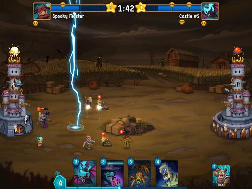 Spooky Wars - Battle Castle Defense Strategy Game SW-00.00.58 Screenshots 8