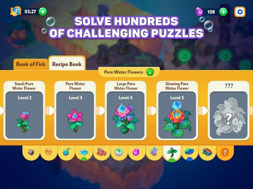 Sea Merge! Fish Games in Aquarium & Ocean Puzzle  screenshots 10