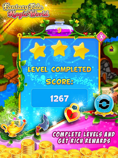 Fairy Tale ud83cudf1f Match 3 Games apkpoly screenshots 10