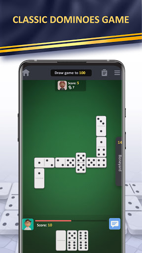 Domino online classic Dominoes game! Play Dominos! apklade screenshots 1