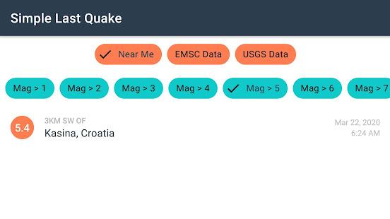 Simple Last Earthquake 1.1 Screenshots 2