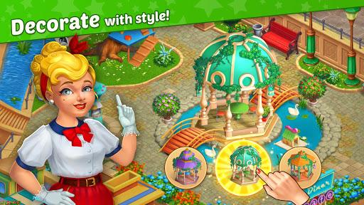 Télécharger Matchland - Build your Theme Park mod apk screenshots 1