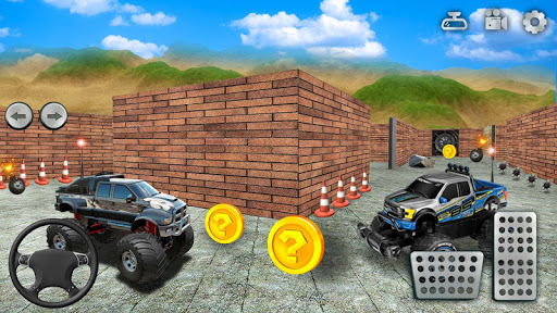 Monster Truck Maze Driving 2020: 3D RC Truck Games  screenshots 13