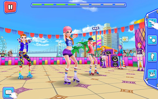 Roller Skating Girls - Dance on Wheels 1.1.6 Screenshots 12