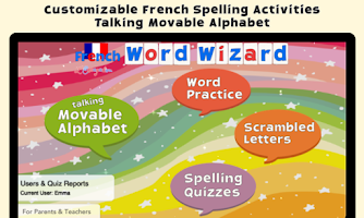 French Word Wizard - Learn to read and spell