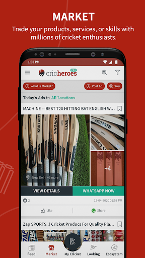 Cricket Scoring App | Live Score - CricHeroes apktram screenshots 6
