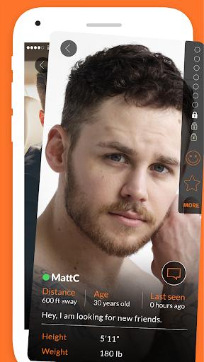 Adam4Adam - Gay Chat & Dating App - A4A - Radar  Screenshots 3
