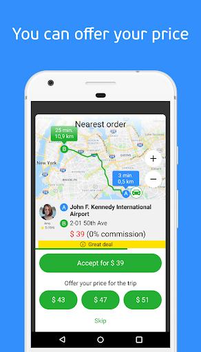 inDriver u2014 Better than a taxi 3.24.1 Screenshots 7