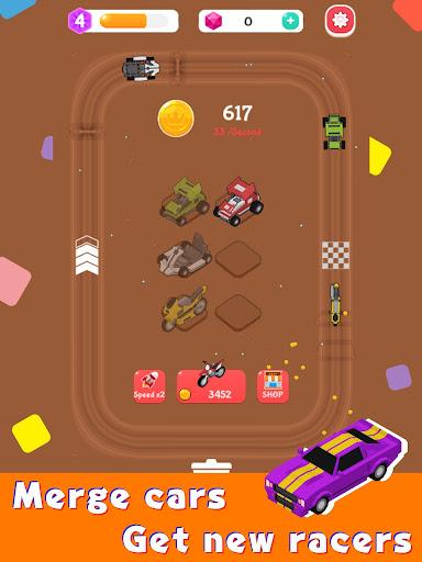 Merge Car Racer - Idle Rally Empire  screenshots 8