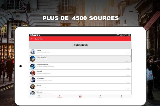 Alertes info: Actualitu00e9 locale et alerte d'urgence 10.7.0 Screenshots 19