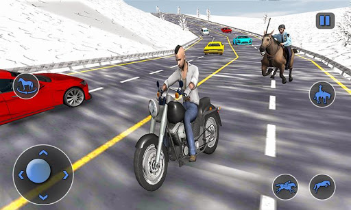 Mounted Horse Police Chase: NY Cop Horseback Ride 1.0.10 screenshots 5