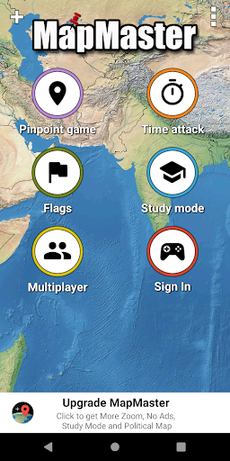 MapMaster Free - Geography game  screenshots 1