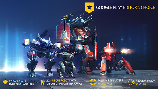 War Robots. 6v6 Tactical Multiplayer Battles goodtube screenshots 7
