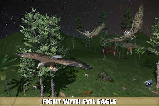 Wild Owl Bird Family Survival: Bird Simulator 3.0 screenshots 8