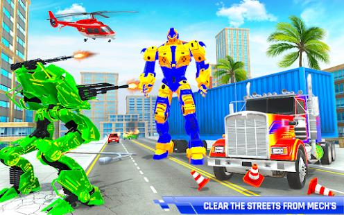 Police Truck Transform Robot 51 Screenshots 9