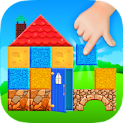 Construction Game Build with bricks