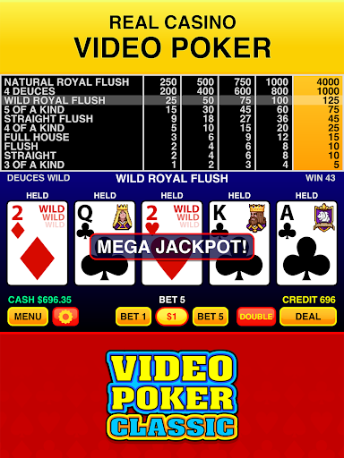 Video Poker Classic Free 3.3 screenshots 6