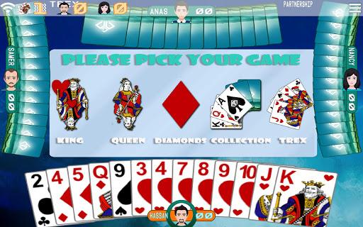 Golden Card Games (Tarneeb - Trix - Solitaire) screenshots 3