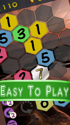 Get To 7, merge puzzle game - tournament edition.  screenshots 1