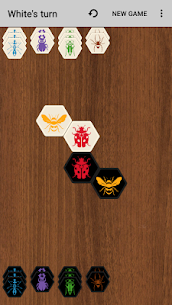 Hive with AI (board game) 5