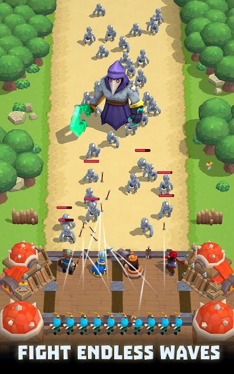Wild Castle TD: Grow Empire Tower Defense in 2021  poster 4