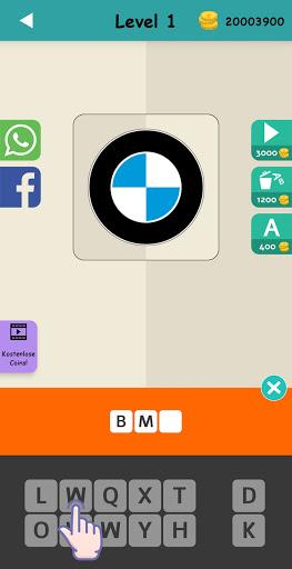Logo Test: Germany Brands Quiz, Guess Trivia Game  screenshots 3