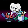 Dentist Scary Mod Among Teeth Us Imposter game apk icon