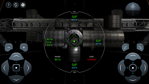 Space X Dragon To ISS Docking Simulator  screenshots 3