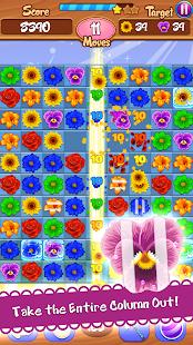 Flower Mania: Blossom Bloom Match 3 Game