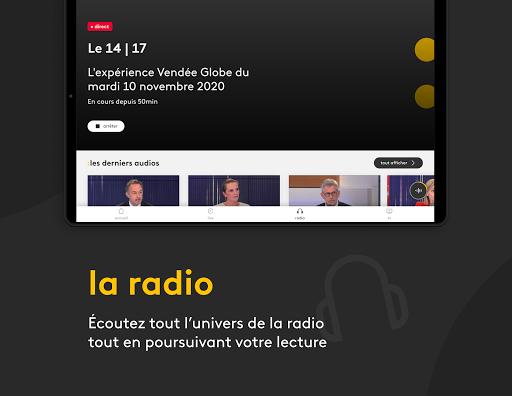franceinfo : actualitu00e9s et info en direct 7.3.0 Screenshots 5