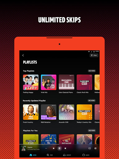 Amazon Music: Stream and Discover Songs & Podcasts Apkfinish screenshots 10