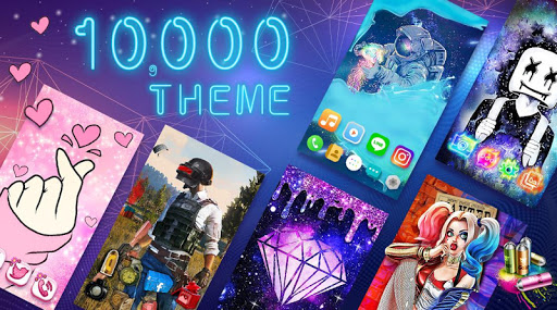 Color Phone Launcher - Live Themes & HD Wallpapers 1.0.120 screenshots 1
